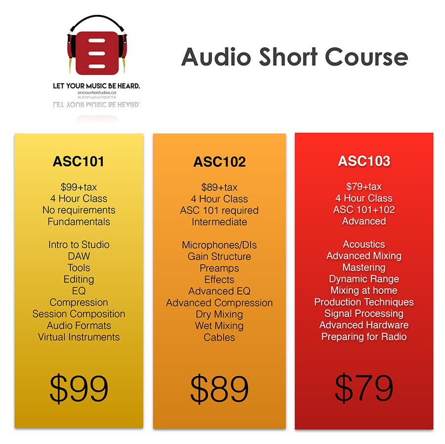 Audio Short Courses
